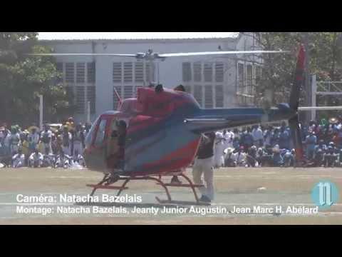 Le parachutiste haïtien Patrick PERREIRA a raté son atterrissage