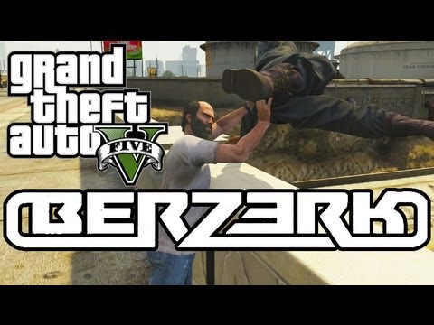 Eminem - Berzerk | Gta 5 Parody video