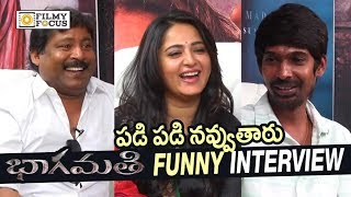 Bhaagamathie Movie Team Hilarious Interview || Anushka, Prabhas Seenu, Dhanraj