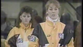 Canada Jr Womens Curling Championship 1991 - part 1- Jennifer Jones