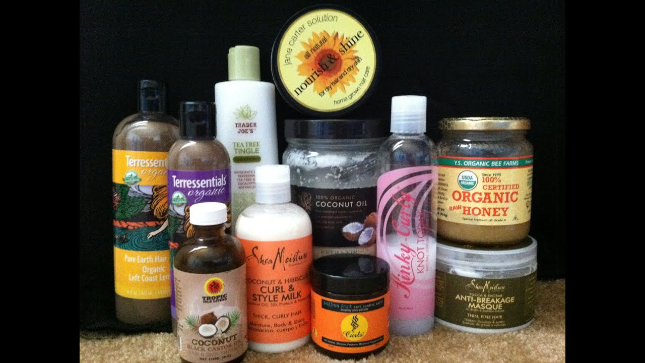 My Natural Hair Products  2013  YouTube
