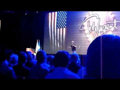 TED NUGENT - NRA 2013 Live & Unedited Part 1 of 4