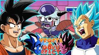 Vegeta & Goku React To Wish for Frieza's Death