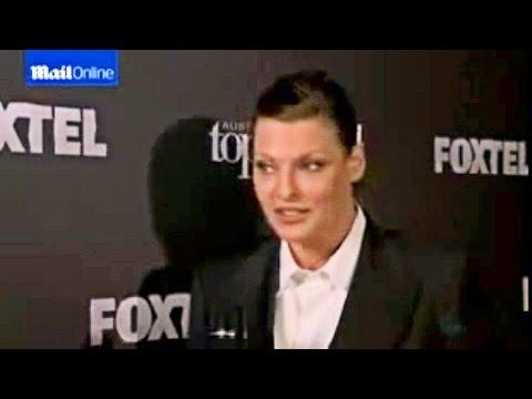 Linda Evangelista - Model Mentor for Austrailia's Next Top Model 2014