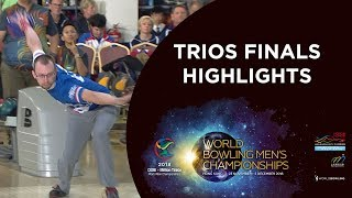 Highlights of Trios Finals - World Bowling Men's Championships 2018