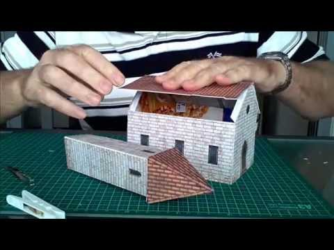 Model Railroad Buildings - Construction Of A Scale Church Building (B423)