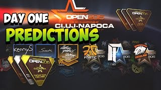 DreamHack 2015 Cluj-Napoca - Pick Em Day 1 Predictions