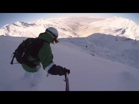 Ski Freeride à Méribel-Mottaret, avec Drift HD170