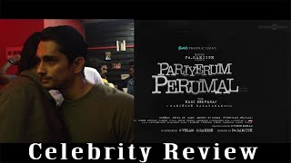 கண் கலங்கிய நடிகர் சித்தார்த்.!#Director_PA_Ranjith Bold Decision #PariyerumPerumal #MariSelvaraj