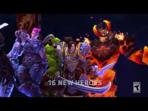In Case You Missed It: 2016 Heroes of the Storm Year in Review