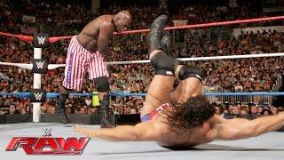 Titus O'Neil vs. Rusev - United States Championship Match: Raw, July 4, 2016