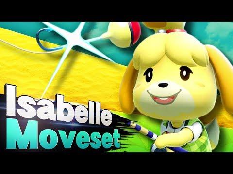 Smash Ultimate - Isabelle Moveset Analysis