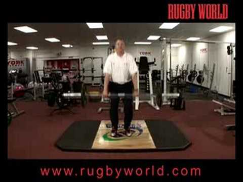 Weightlifting for Rugby Fitness - The Powerclean Image 1