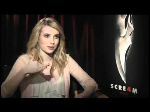 Emma Roberts - Scream 4 Press Junket