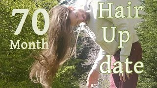 Man Growing Long Hair For 5 Years and 10 Months