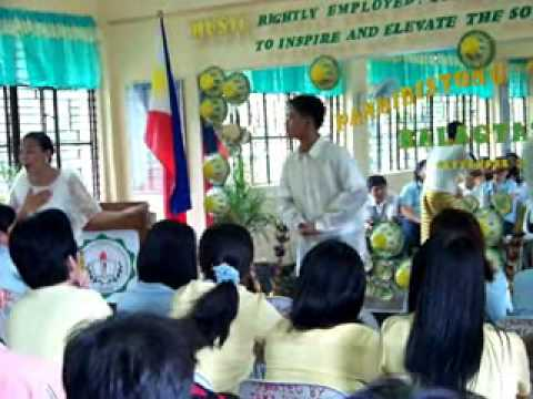 Mnhs - Balagtasan Champion - Division Level video