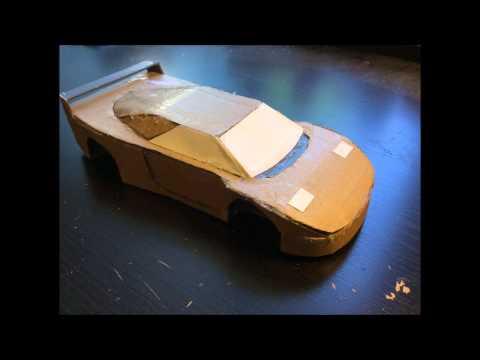 Как сделать симулятор машины из картона