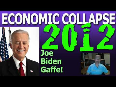 ECONOMIC COLLAPSE 2012 - Robert Gibbs, President Obama and Joe Biden Buried Middle Class Gaffe