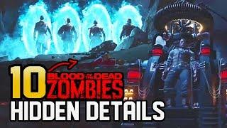 10 HIDDEN ENDING CUTSCENE DETAILS - BLOOD OF THE DEAD! (Black Ops 4 Zombies)