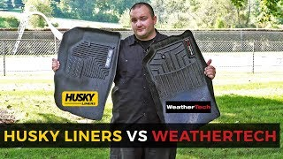 WeatherTech VS Husky Liner: Torture Test and Comparison!