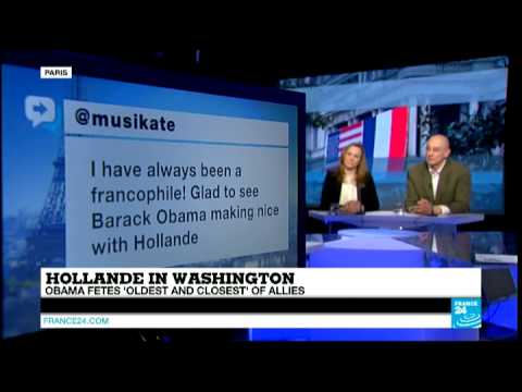 Hollande in Washington: Obama Fetes 'Oldest and Closest' of Allies - #F24Debate