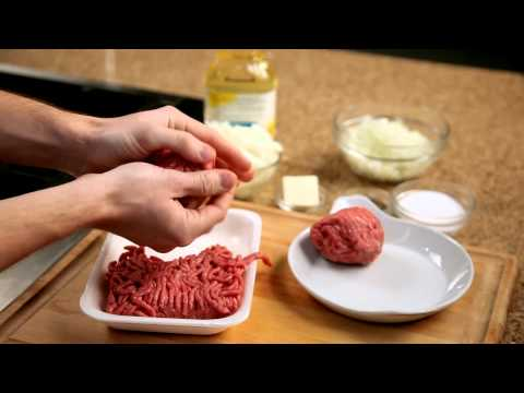 How to make a homemade burger &#8211; #3 &#8211; Forming burger patties  Appetites