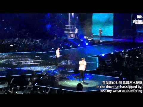 [ENG] 150530 EXO'luXion Shanghai VCR + Promise + Short Encore Ment [mr.virtue]