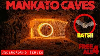 Exploring the Mankato Caves (Steel Wool)