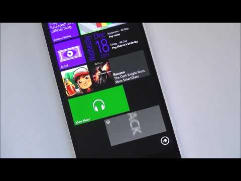 Xbox Music + Video Apps For Windows Phone 8 video