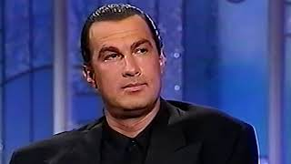 What STEVEN SEAGAL says about VAN DAMME and other action stars  [HD]