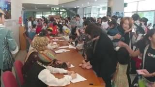 2017 인천시티발레   신데렐라 공연후 팬사인회 2017 Incheon City Ballet