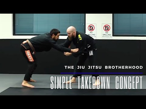 A Concept To Improve Your Takedowns | Jiu Jitsu Brotherhood Image 1