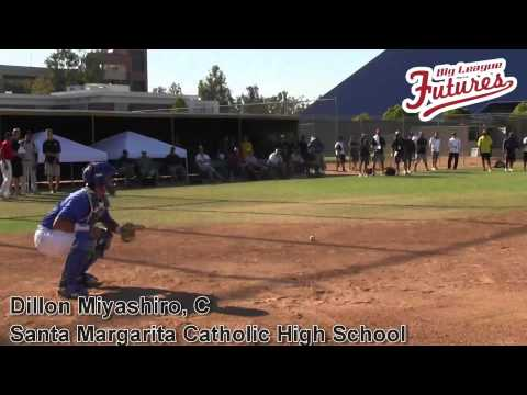 DILLON MIYASHIRO PROSPECT VIDEO, CATCHER, SANTA MARGARITA CATHOLIC HIGH SCHOOL CLASS OF 2014