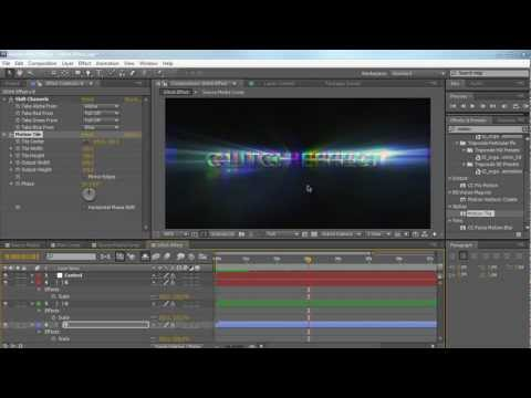 AE: Create a Glitch Effect in After Effects