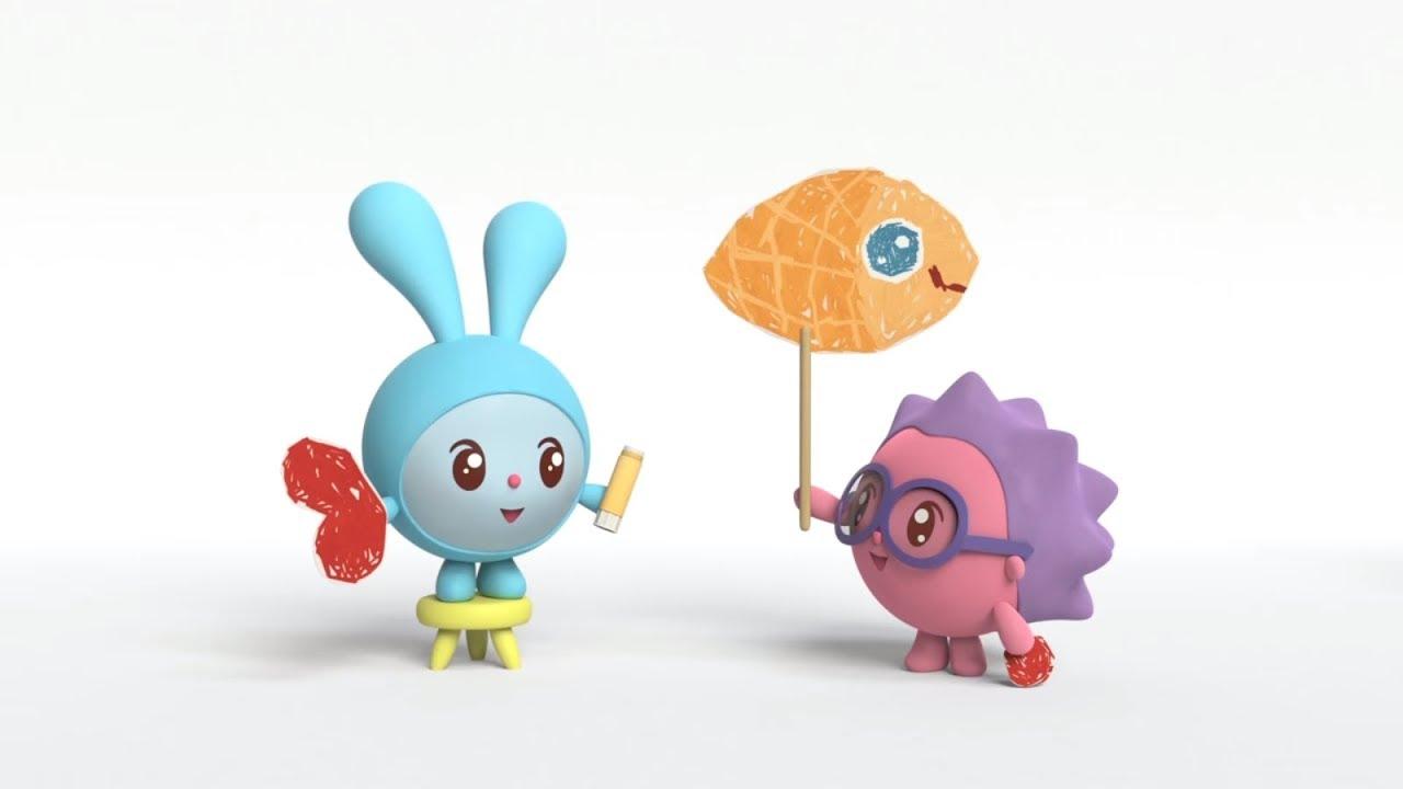 Малышарики - новые серии - Дом для рыбки (Серия 115)  Развивающие мультики для самых маленьких