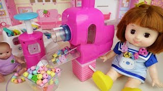 Baby doll Eraser jewelry maker and house baby Doli play
