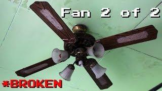 """52"""" Alaska/Maspion decorative ceiling fan (fan 2 of 2, broken)"""