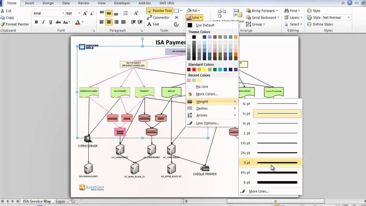 Organizing And Filtering Visio Diagrams Quickly And Easily