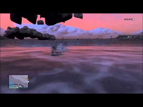 How To Swim In Air Funny Animation Glitch – Grand Theft Auto 5 Glitches