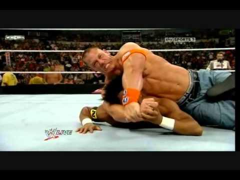 John Cena And Darren Young John Cena Attacks Darren Young