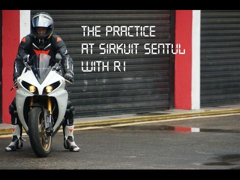 Latihan bareng Yamaha R1, R6, cbr di sirkuit sentul