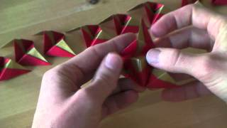 Origami Tutorial - Christmas Ornament