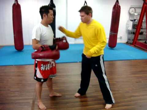 Donnie B: Old Style Muay Thai - Up Elbow Technique Image 1