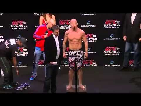 UFC on Fuel TV 8 - Wanderlei Silva vs Brian Stann WEIGH IN