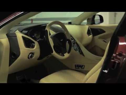 Aston Martin Vanquish 2013, реклама
