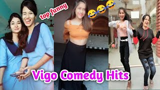 Vigo comedy hits|| today new funny vigo video|| new viral video||top mix compitition