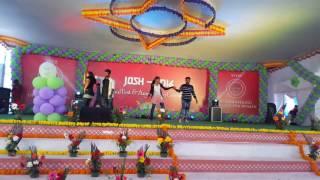 dance performance by theja in josh +svce