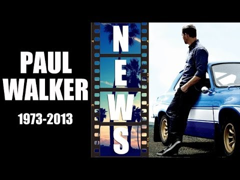 Paul Walker dead in car crash @ 40. Fast and Furious 7 delayed - Beyond The Trailer