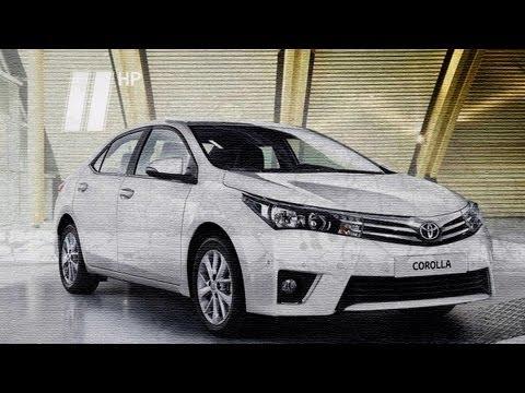 Toyota Corolla 2013, тест-драйв