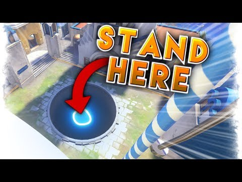 IT'S POSSIBLE TO STAND HERE..?? | Overwatch Best and Funny Moments - Ep.94